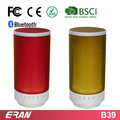 Functional Color Round Bluetooth Speaker with LED Light, Promotioal Wireless Bluetooth Speaker