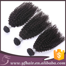 Fast shipping lowest price virgin hair weave quality guranteed afro kinky curly human hair for braiding