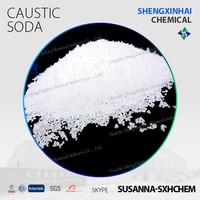 Factory price caustic soda pearls 99%min 25Kg bags Industrial Grade Soap making raw material