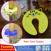 child safety door wind stopper/baby door guard/eva door stopper