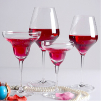 2015 new design hot sale crystal white wine glass