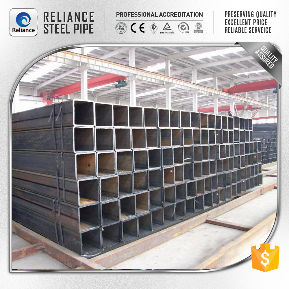 100 X100 HOLLOW SECTION MILD STEEL SQUARE TUBE