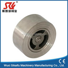 316 stainless steel spring loaded wafer check valve