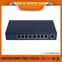 Mini IEEE802.3af & IEEE802.3at 9 ports with 802.3af (Power over Ethernet) 802.3af (Power over Ethernet)