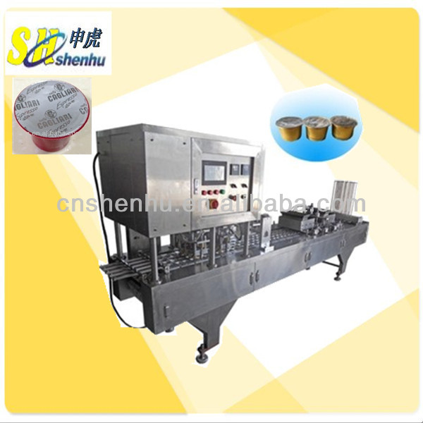 Automatic nestle coffee capsule filling sealing machine