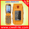 UNIWA TRANS X10 Dual Screen Big Battery Transformer Power Bank Flip Phone Feature Phone