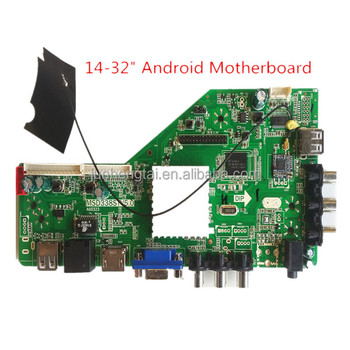 "Hot Selling In India with smart function14-32""led tv Andriod Board"