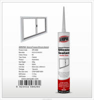 AEROPAK decorative stained glass seal silicone sealant