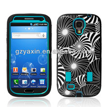 Hybrid Plastic Silicone Case For Samsung Galaxy S4 Case,Funny Case For Samsung Galaxy S4