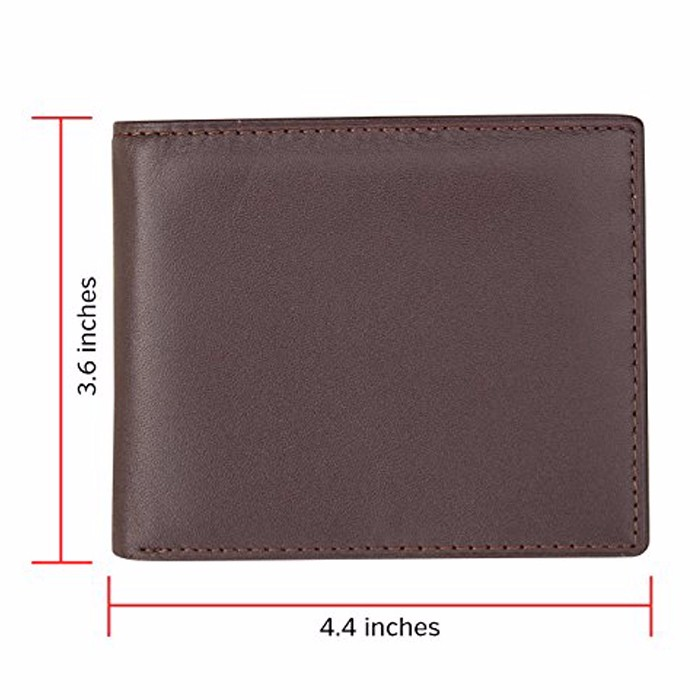 2017 branded manufacturer best sell good quality full grain skin best men leather wallet