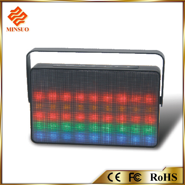 SP-042 LED Dancing Light 2016 Bluetooth Speaker dj bass speakers