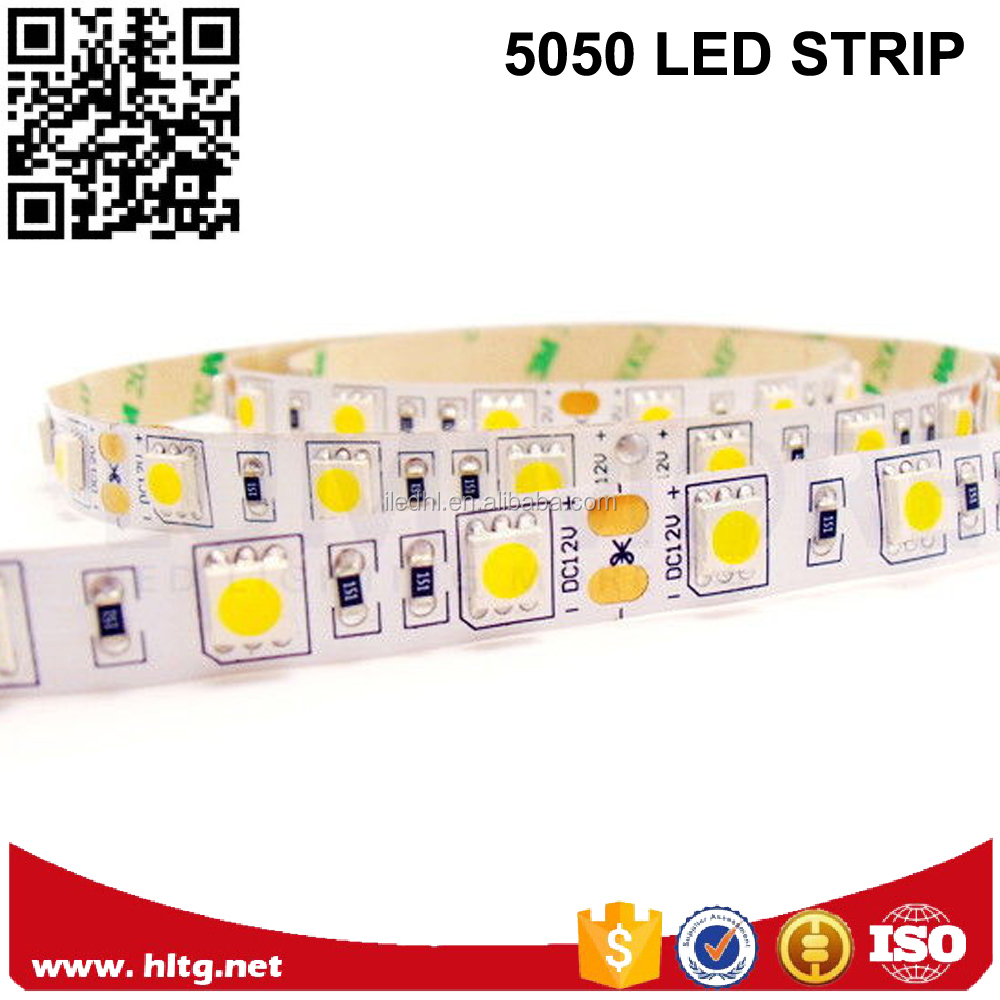 Warm white 3000K smd 5050 led light CRI>90 high lumen with factory direct sale
