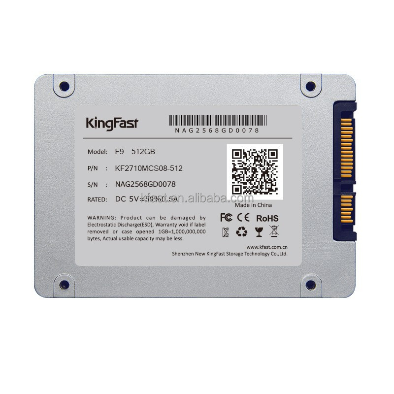 "new arrival KingFast SSD 2.5"" SATA 512GB SSD hard drive 500GB SSD for laptop/desktop"