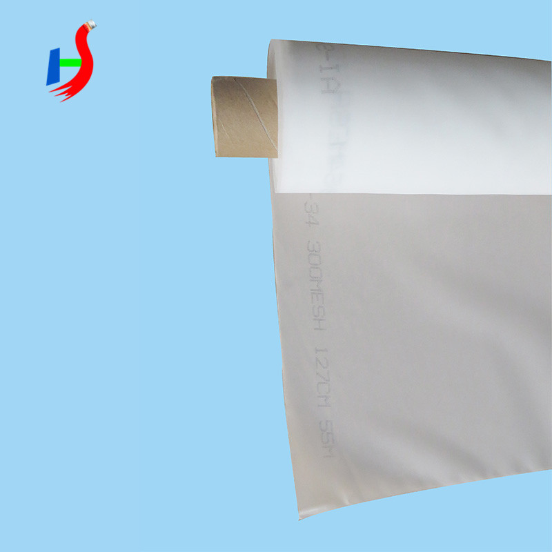 High tension 50 micron polyester mesh