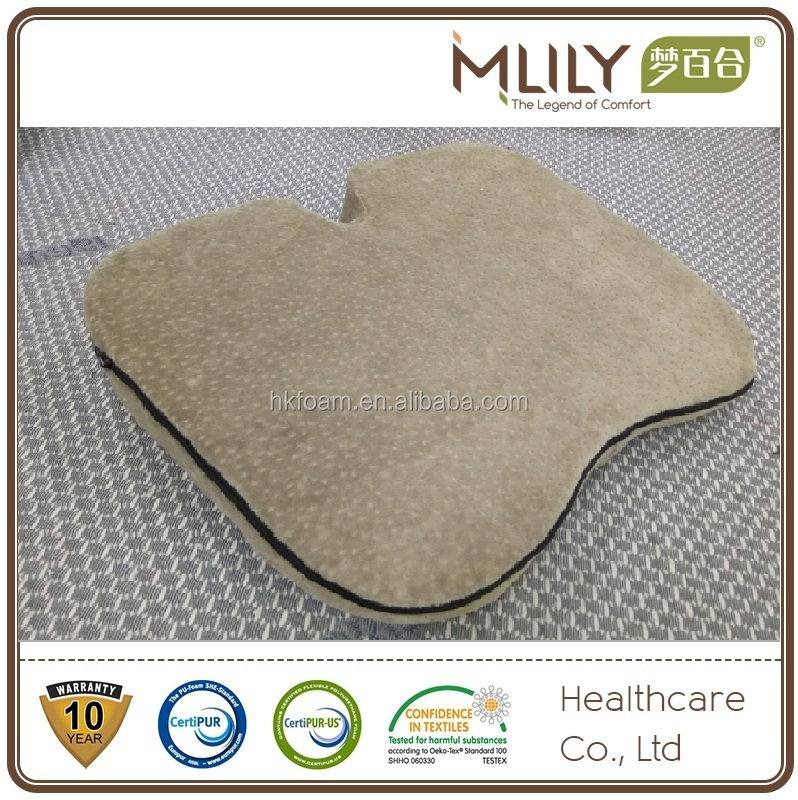 Office car Memory Foam travel gel Seat Cushion