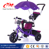 plastic wheels baby carrier tricycle /cheap price tricycle for kids with umbrella child trike/triciclo kids baby tricycle