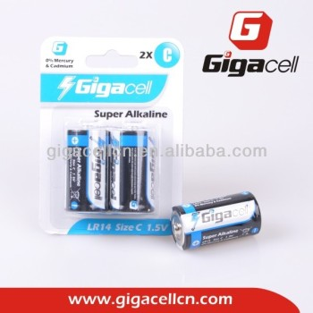 Cheap price! Good quality! AM2 Size C battery LR14 alkaline battery
