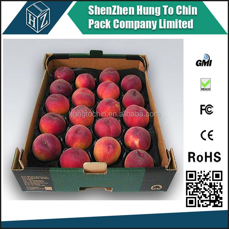 5 ply full color printing carton strawberry boxes