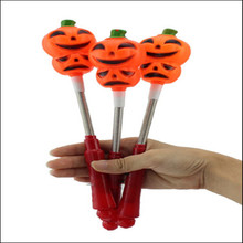 Halloween Flash Gift /Children Pumpkin Clothing Accessories/Led Flashing pumpkin stick