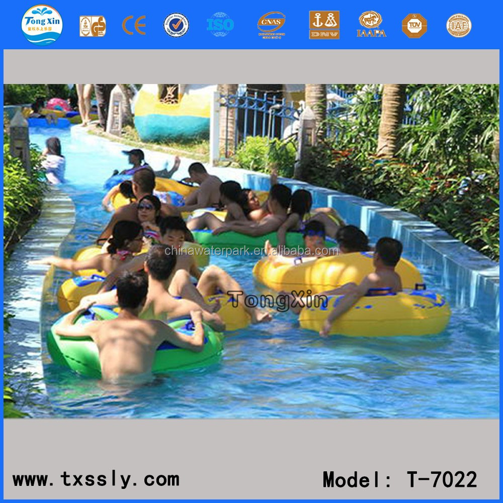 funny water park lazy river
