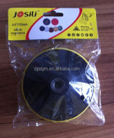 manufacturer of plastic backing pad M10/M14
