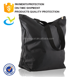 logo printed good quality 600d polyester shopping bag