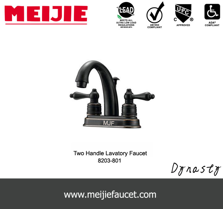 UPC Oil bronze bathroom sink faucet