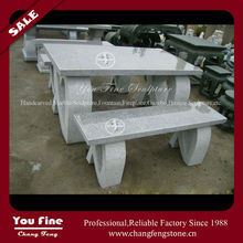 good sales garden stone tables and chairs