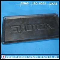 black anodized sheet metal cover high precision stamping cover