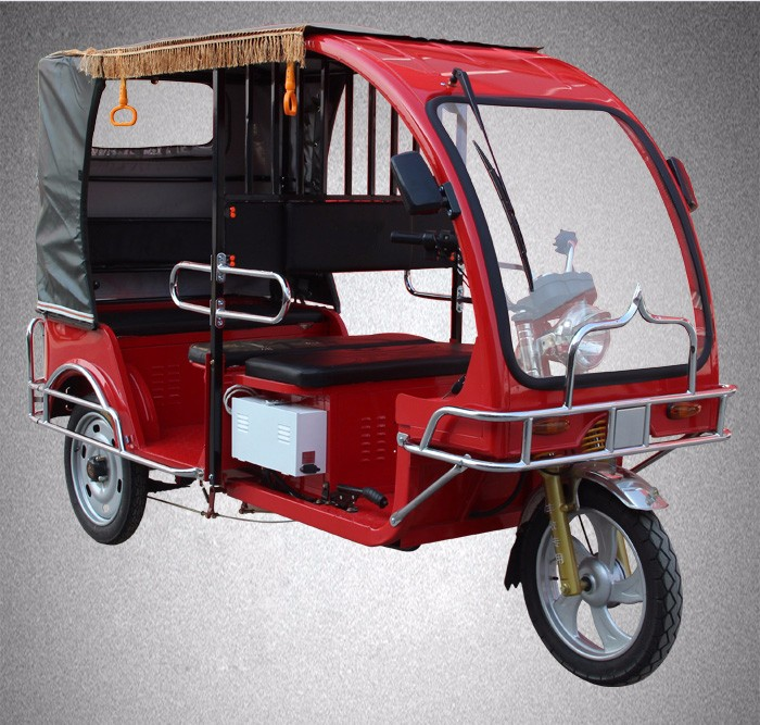 China Manufacturer hot sell three wheel motocycle three wheel taxi bajaj tuk tuk taxi for sale