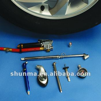 tyre pressure and tread depth gauge, auto accessory