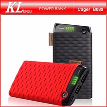 Cager B089 Wholesale Portable Smart RoHs Power Bank Charger 6000mAh for Mobile Phone