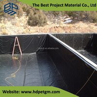 Liner Water Tank HDPE 0.8mm Waterproof Geomembrane Material Cheap
