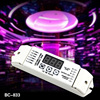 addressed, 3 Channels/12 to 24V/15A/ Dimmable DMX Decoder and RGB PWM LED Driver