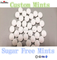 Breath mints sugar free mints flip top box