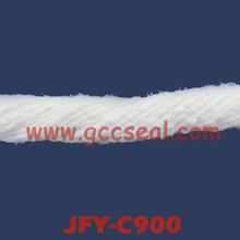 JFY-C900 twisted ceramic rope reinforced by glass fiber and SS wire