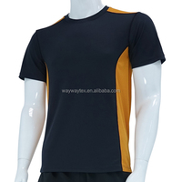 Men's custom short sleeves seamless t-shirt for sporting