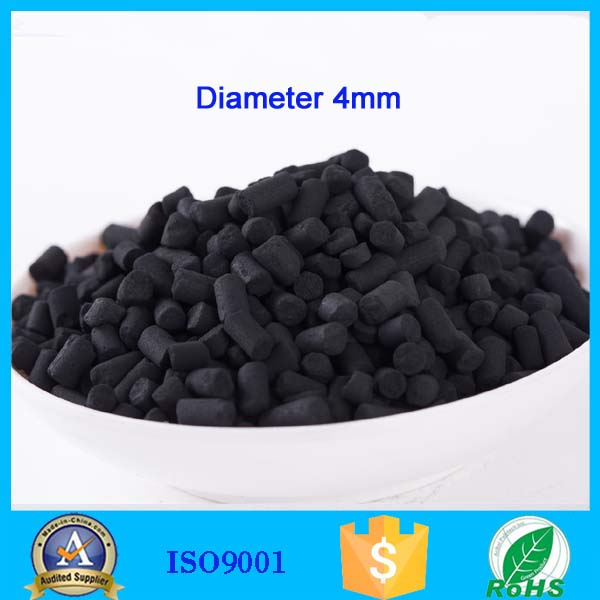 4mm coal based pellet activated carbon for chemical wast water