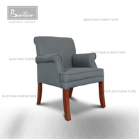 Chair Dining, Wooden Armchair, French Design