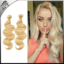 2015 latest 100% raw unprocessed virgin brazilian blonde hair extension