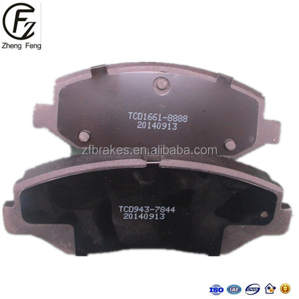 WeiFang ZF For ACURA for HONDA Car Auto Parts d943 AUTO Brake Pads 06450s9aa00 gdb3325 23856