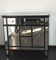 On Sale Mirrored Furniture Living Room For Project Cheap Mirrored Side Tables/Buy Cheap Home Decor Items