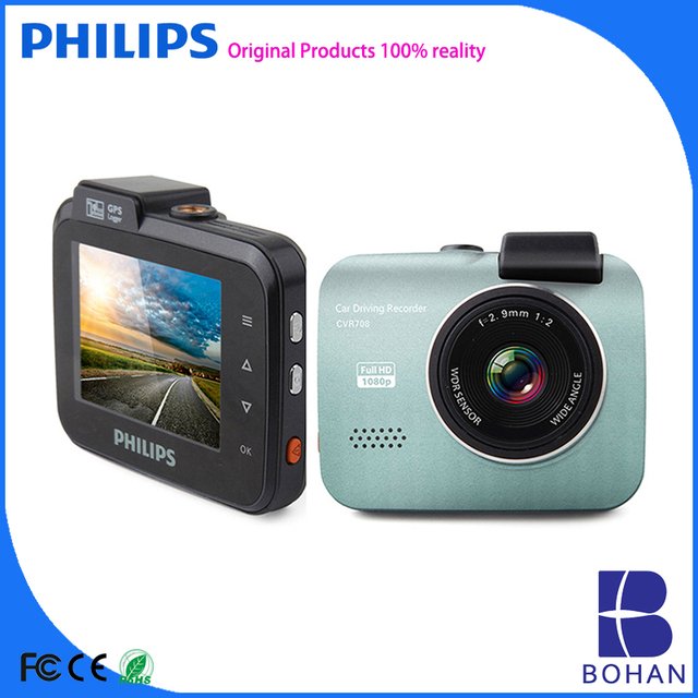 PHILIPS Video Camera 1080P Manual Car Camera HD Dvr