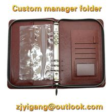 A4 Hardcover Leather Certificate Folder, Credentials cover, Diploma Case