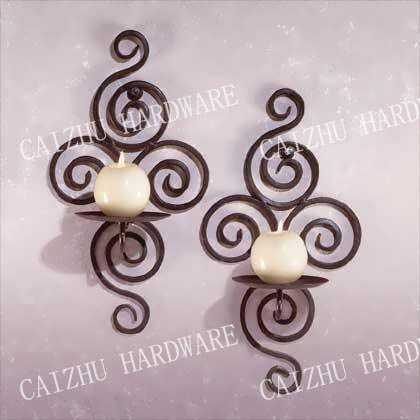 2016 China cheap wrought iron metal candle holder for wholesale