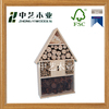 Modern outdoor wholesale insect cage wooden insect house wooden insect hotel