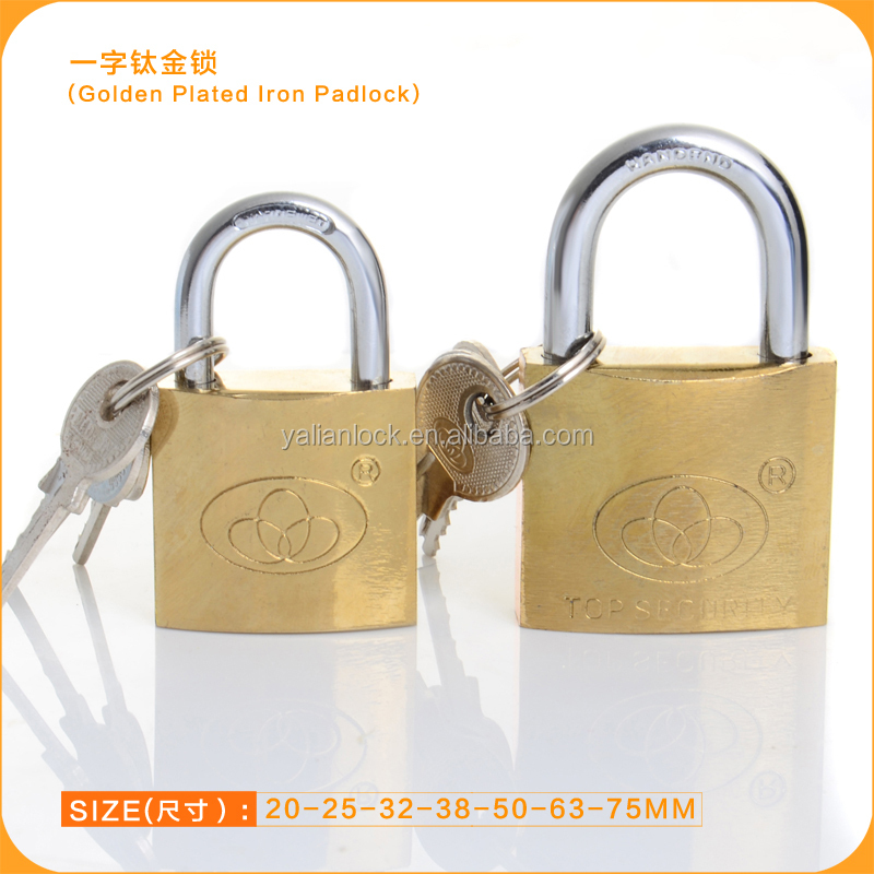 High Polishing Brass Padlock With Yalian Brand