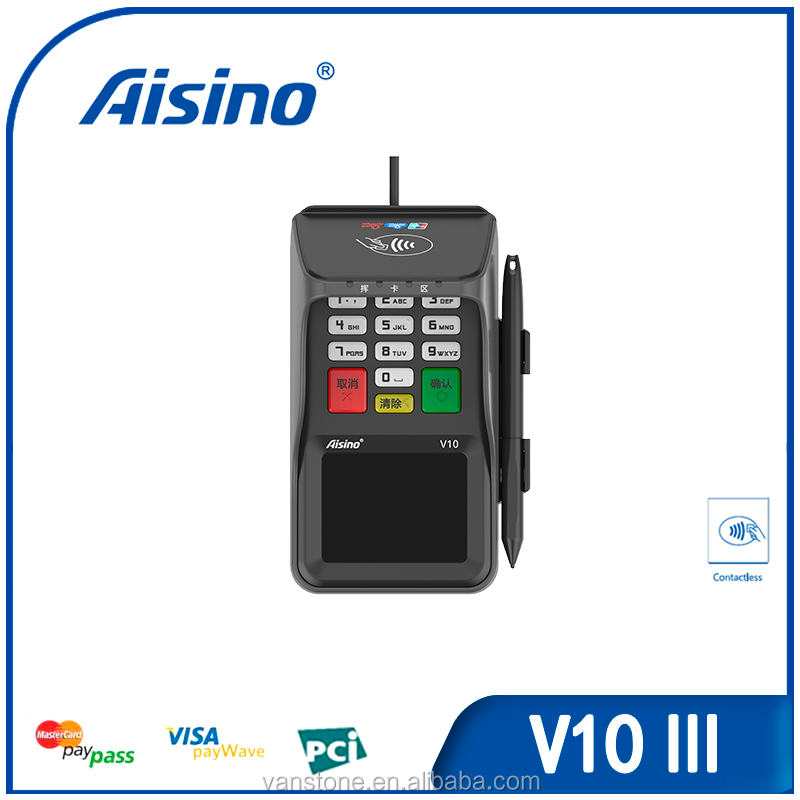 Fashion and Handiness Multifunction POS Terminal V10 III