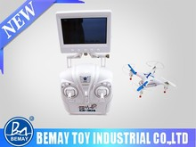 2015 New Toys Remote Control RC Quadcopter with FPD 2.4G 6 axis Mini professional drone with camera