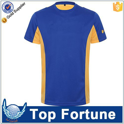 Provide OEM service unisex t-shirts cotton polyester blend